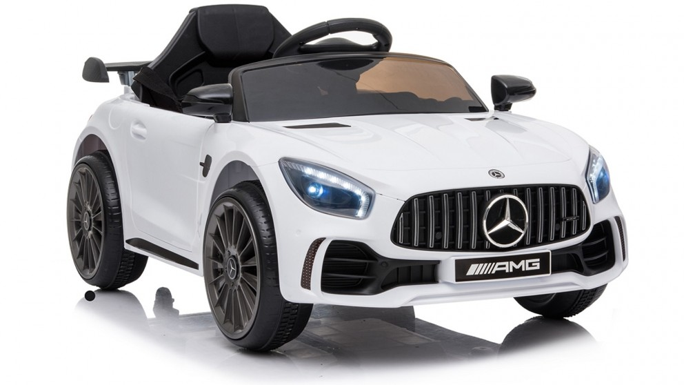 Mercedes Kids Electric Ride On Car - White