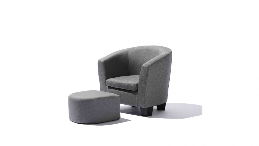 Central Baby District Kids Armchair with Ottoman