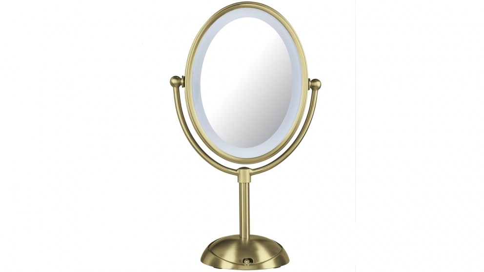 Buy Conair Reflections Led Lighted Mirror Brushed Gold