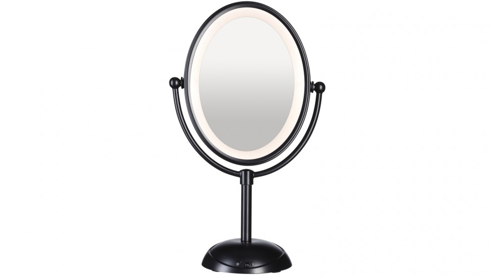 Conair Reflections LED Lighted Mirror - Matte Black