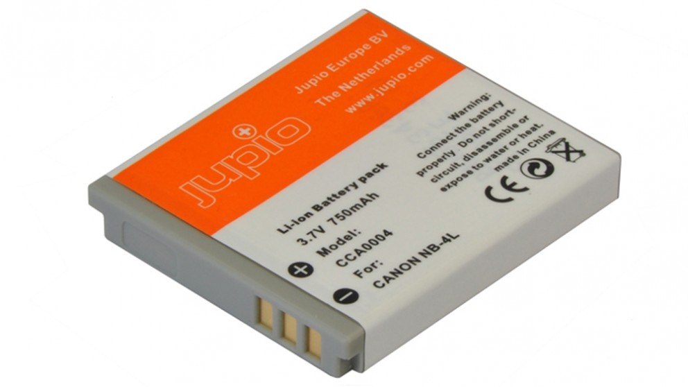 Jupio Canon NB-4L 700mAh Battery