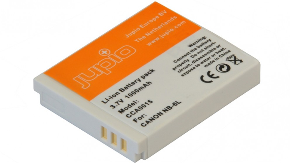 Jupio Canon NB-6L 1000mAh Battery