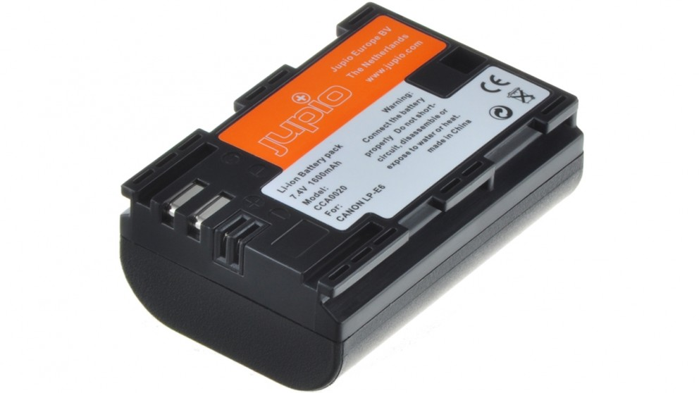 Jupio Canon LP-E6 1700mAh Battery