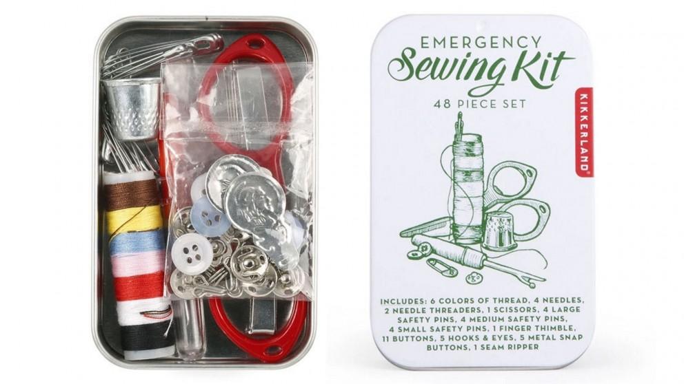 Kikkerland 48-Piece Emergency Sewing Kit
