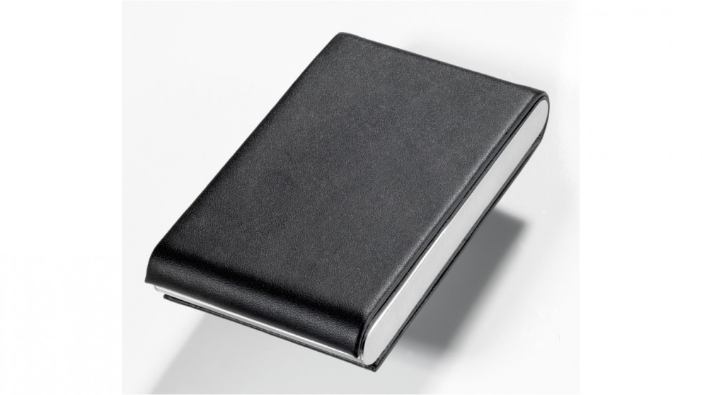 Troika Midnight Business Card Case
