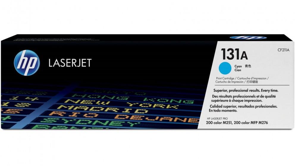 HP 131A LaserJet Toner Cartridge - Cyan