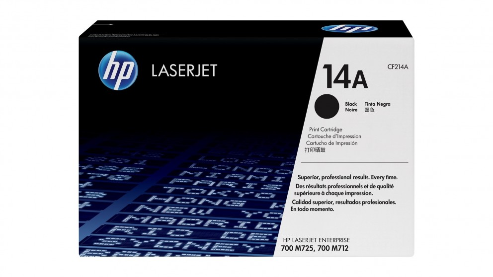 HP 14A LaserJet Toner Cartridge - Black