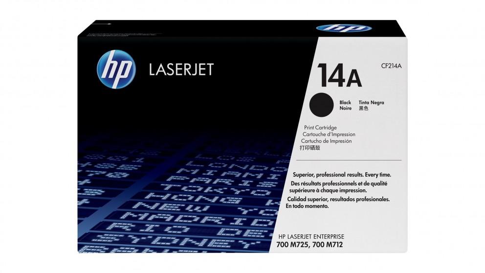 HP 14A LaserJet Toner Cartridge - Black