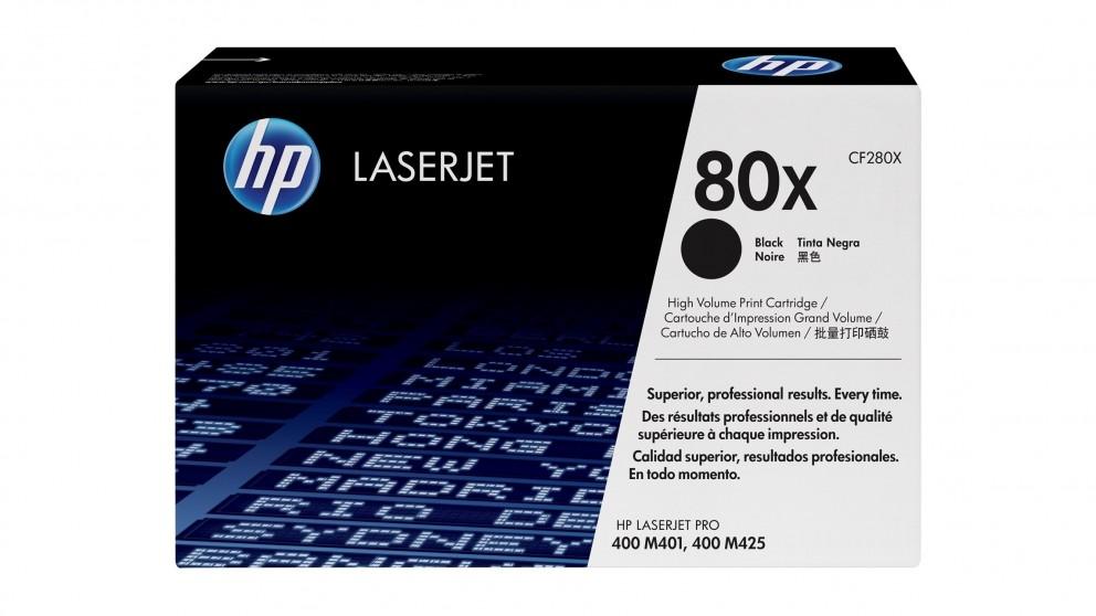 HP 80X High Yield LaserJet Toner Cartridge - Black