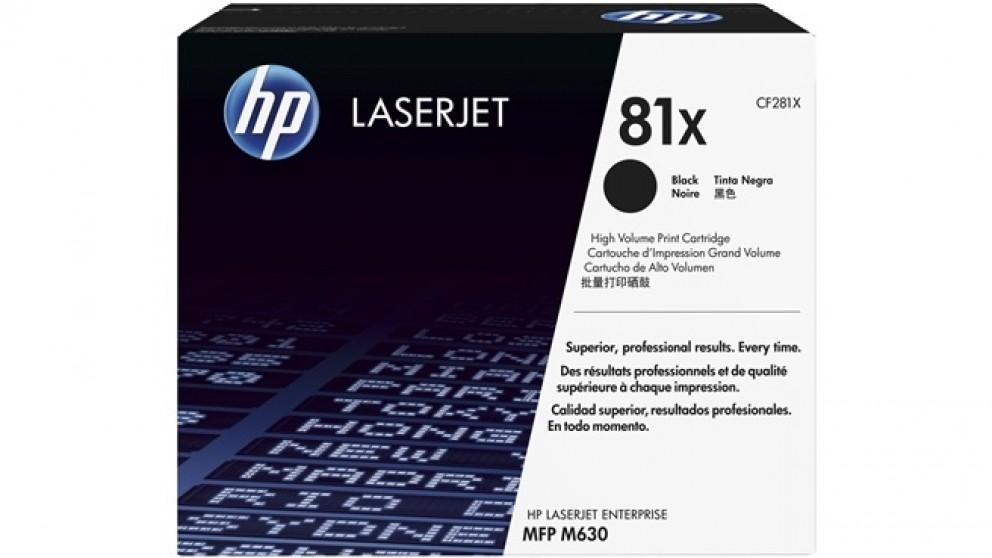 HP 81X Laser Jet Toner Cartridge - Black