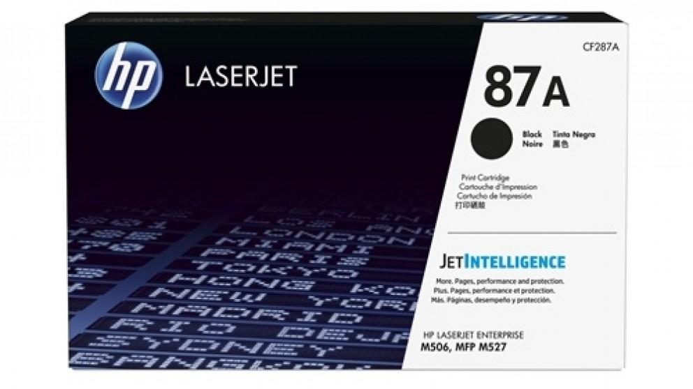 HP 87A Laser Jet Toner Cartridge - Black