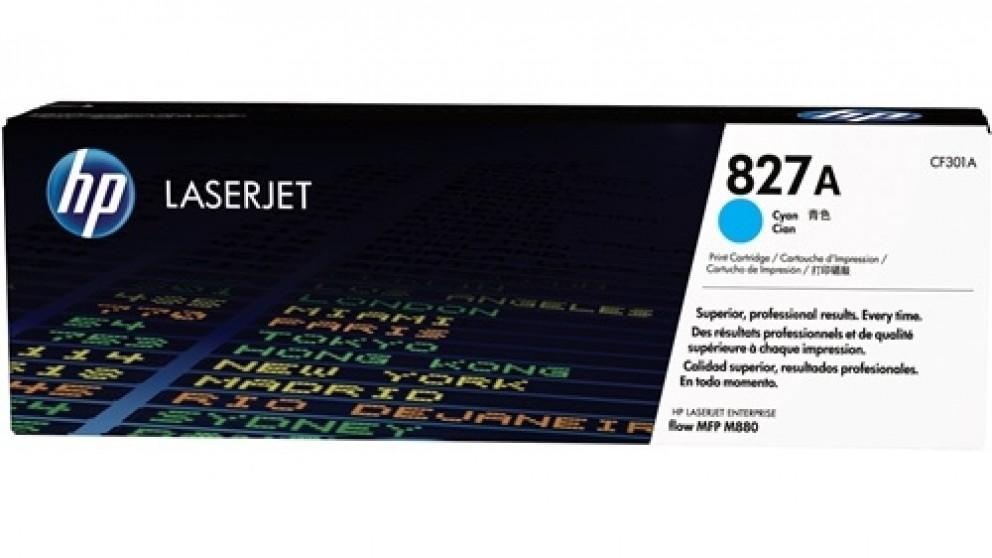 HP 827A Laser Jet Toner Cartridge - Cyan