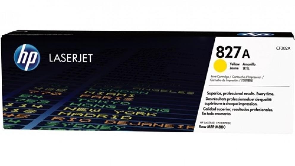 HP  827A Laser Jet Toner Cartridge - Yellow