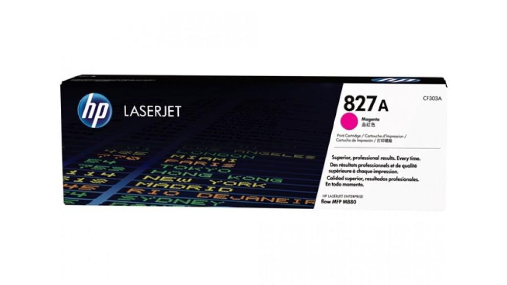 HP  827A Laser Jet Toner Cartridge - Magenta