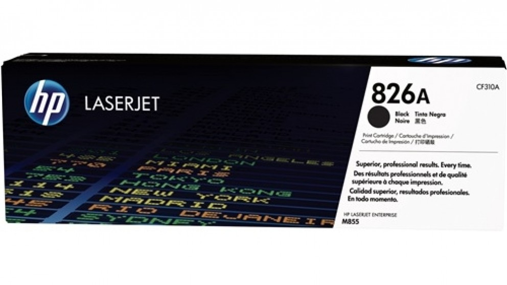 HP 826A Laser Jet Toner Cartridge - Black