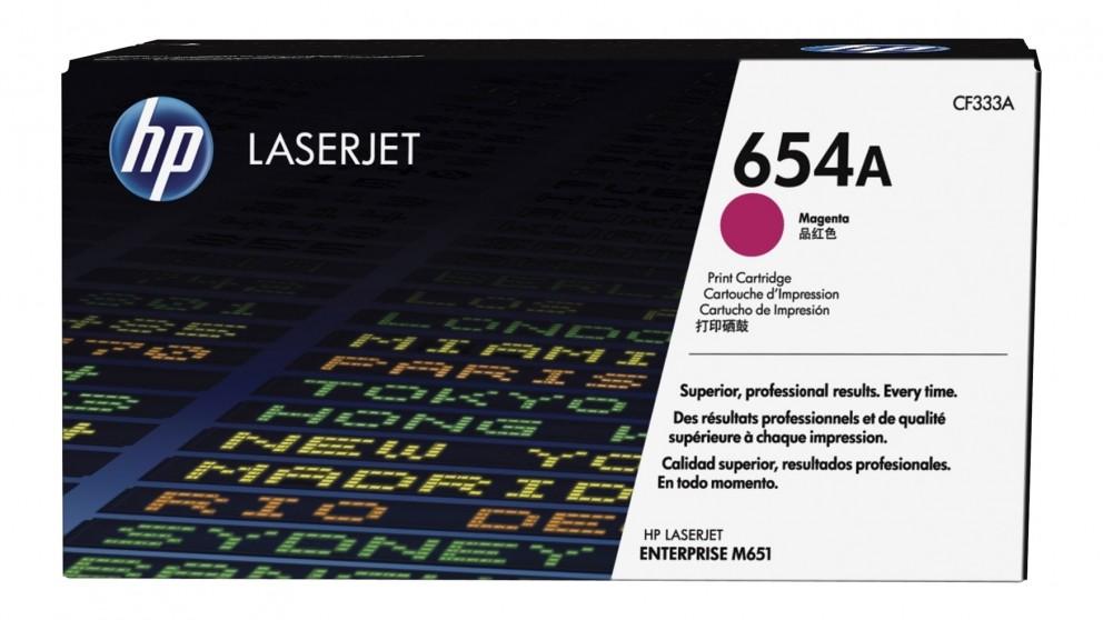 HP 654A LaserJet Toner Cartridge - Magenta