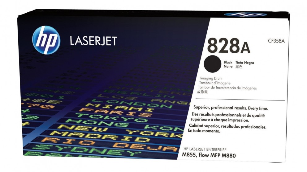 HP 828A LaserJet Drum Toner Cartridge - Black