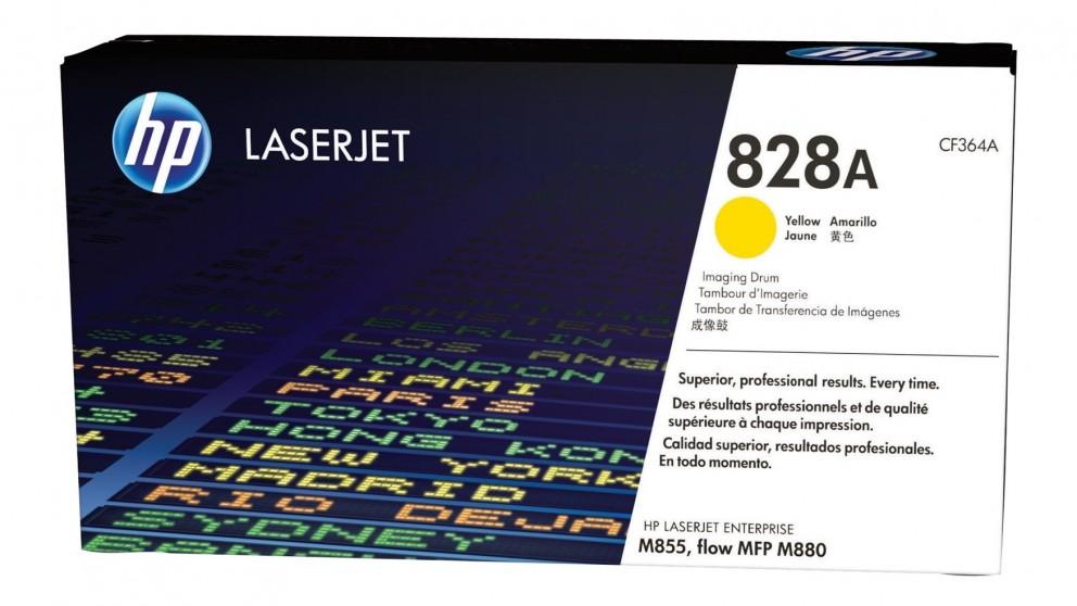 HP 828A LaserJet Drum Toner Cartridge - Yellow