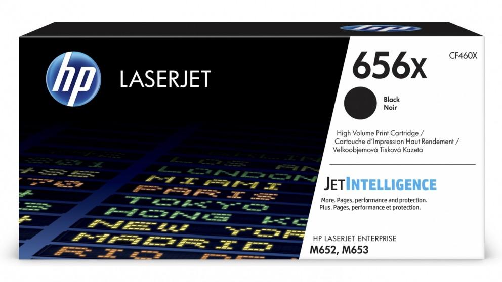 HP 656X High Yield LaserJet Toner Cartridge - Black