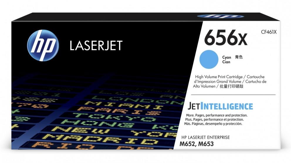 HP 656X High Yield LaserJet Toner Cartridge - Cyan