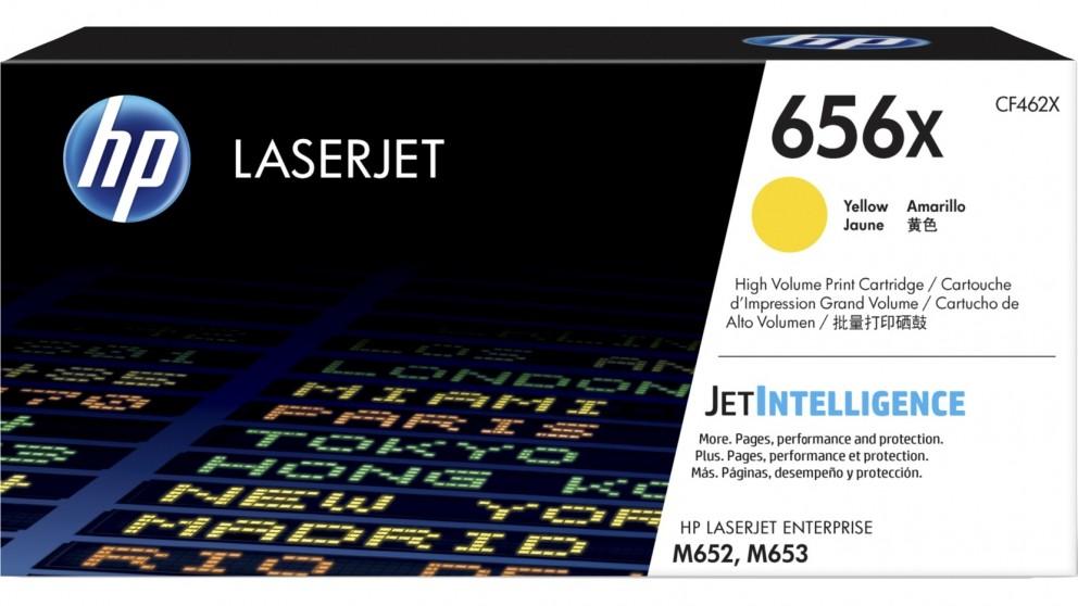 HP 656X High Yield LaserJet Toner Cartridge - Yellow