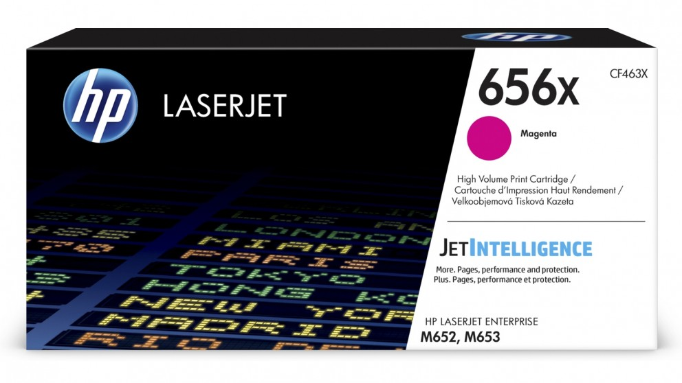 HP 656X High Yield LaserJet Toner Cartridge - Magenta