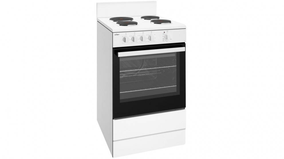 Chef 540mm Freestanding Electric Cooker with Conventional Oven - White