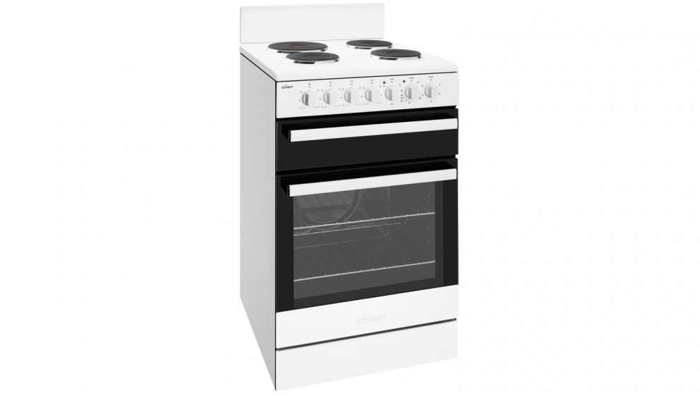 Chef 540mm Freestanding Electric Cooker with Seperate Grill