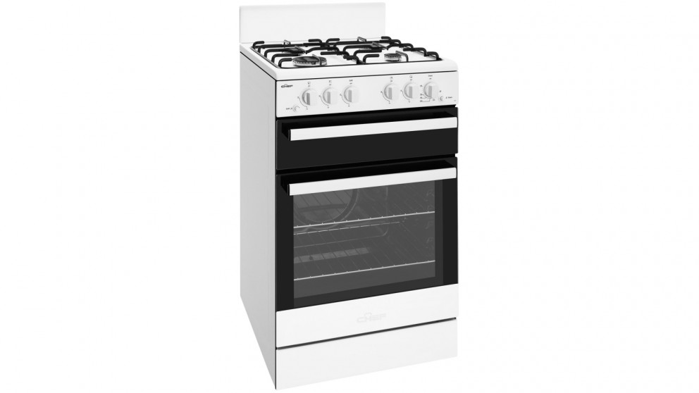Chef 540mm Freestanding Natural Gas Cooker With Conventional Oven