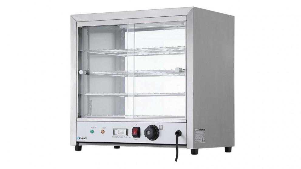 Devanti Commercial Food Warmer Cabinet - Stainless Steel