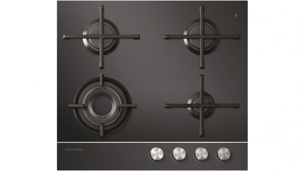 Fisher & Paykel 600mm Ceramic Glass Natural Gas Cooktop