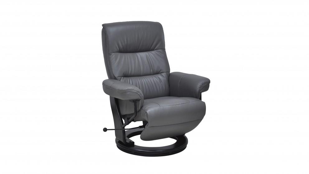Kirra Leather Recliner  sc 1 st  Harvey Norman & Kirra Leather Recliner - Recliner Chairs - Living Room - Furniture ... islam-shia.org