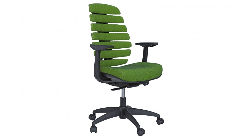 Green Desk Chairs asana office chair - green - office chairs - home office