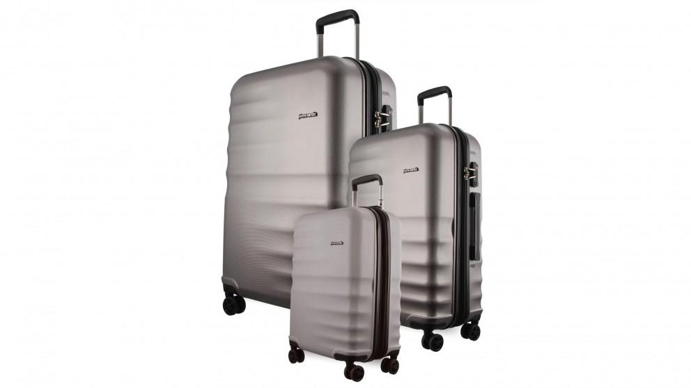 Pierre Cardin Hard Shell 3-Piece Luggage Set - Champagne
