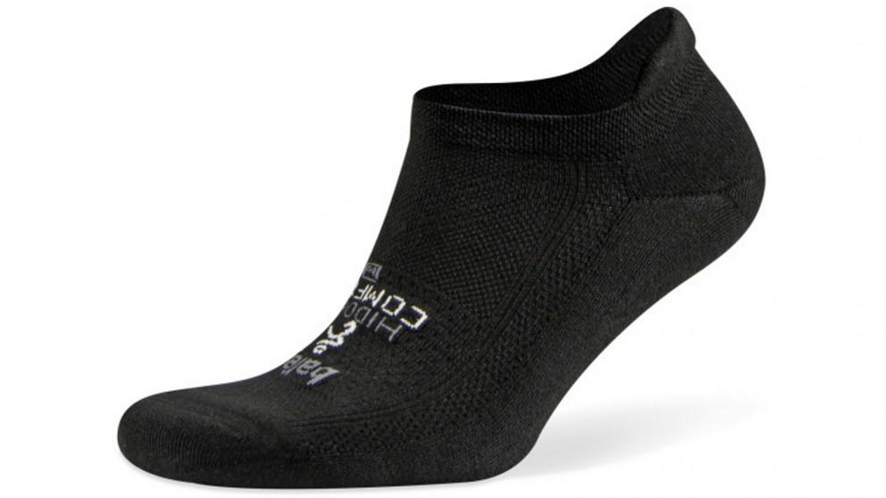 Balega Hidden Comfort No Show Charcoal Socks - Small