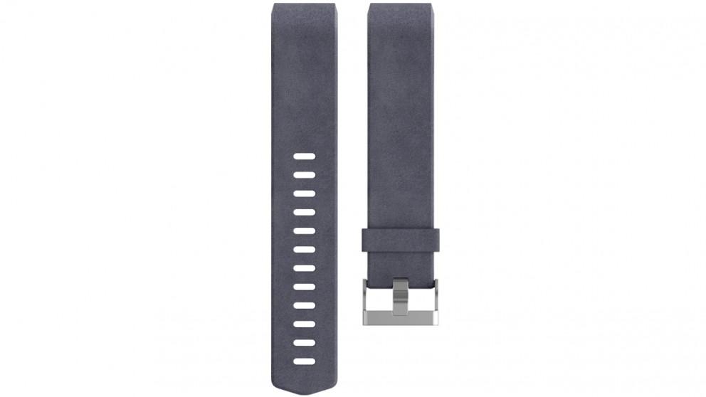 Fitbit Charge 2 Large Leather Wristband - Indigo