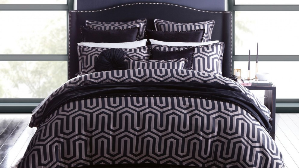 Chase Onyx Quilt Cover Set
