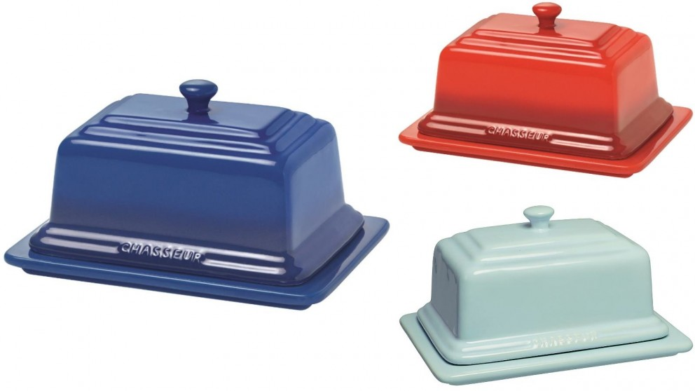 Chasseur Butter Dish