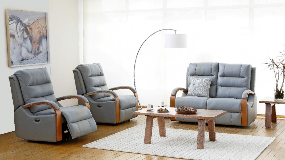 Tallai 3 Piece Powered Italian Leather Recliner Lounge Suite & Tallai 3 Piece Powered Italian Leather Recliner Lounge Suite ... islam-shia.org