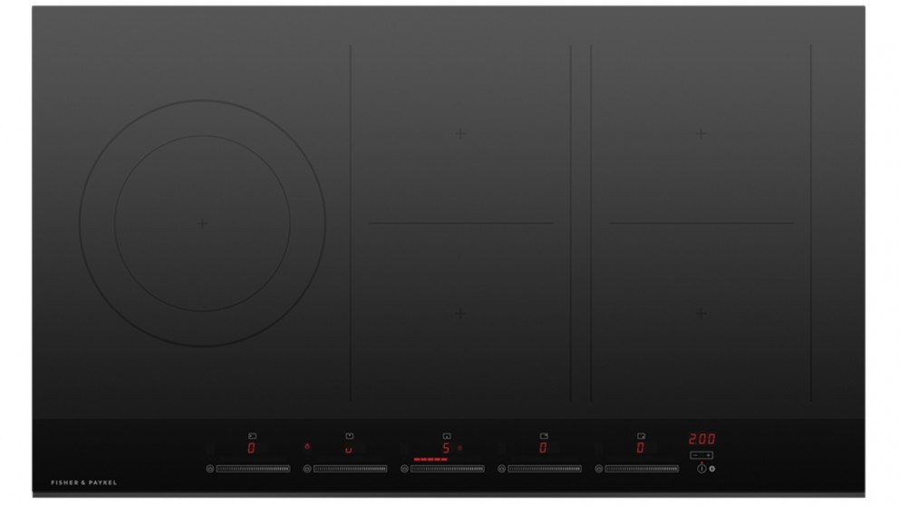Fisher & Paykel 900mm 5 Zone Induction Cooktop with SmartZone