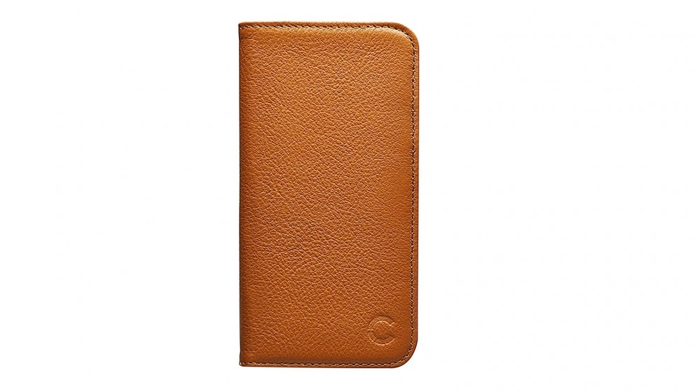 Cygnett CitiWallet Premium Leather Case for iPhone X - Tan