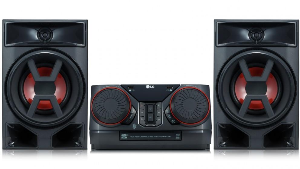 LG CK43 300W XBoom Mini Hi-Fi System with Bluetooth