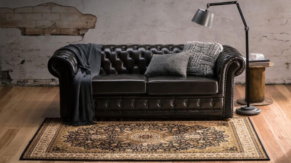 Classico 0119/DZ2B Large Rug - Black