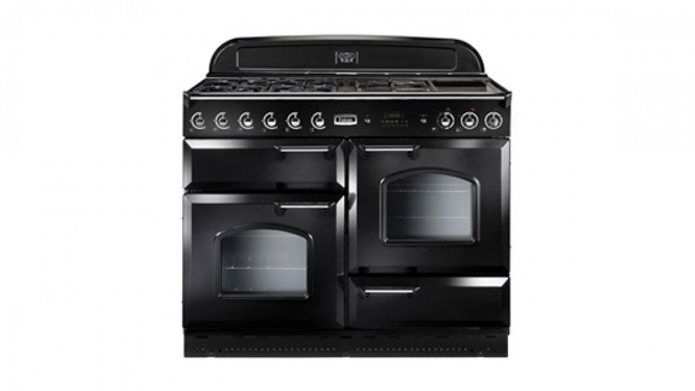 Falcon Classic 1100mm Gas Freestanding Cooker - Black Chrome