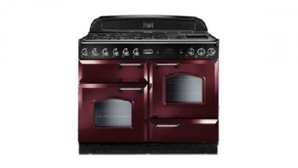 Falcon Classic 1100mm Gas Freestanding Cooker - Cranberry Chrome
