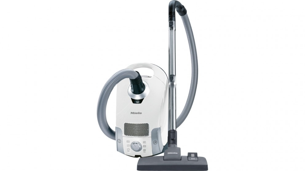 Miele Compact C1 Young Style PowerLine Cylinder Vacuum Cleaner - Lotus White