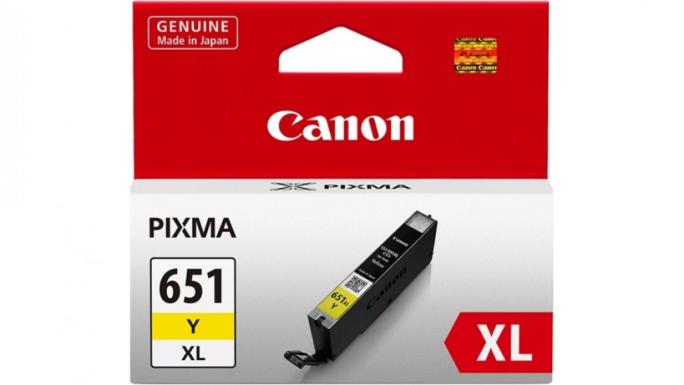 Canon High Yield Ink Cartridge - Yellow