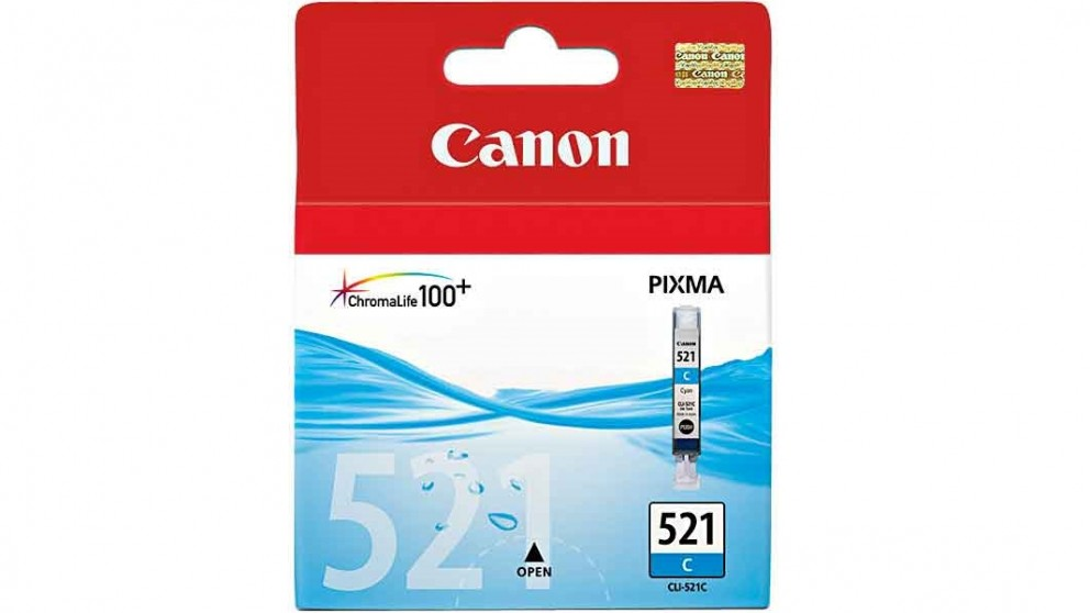 Canon CLI-521C Cyan  Colour Cartridge