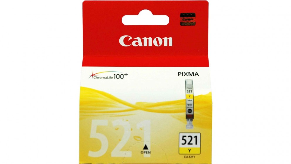 Canon CLI-521 Yellow Colour Ink Cartridge