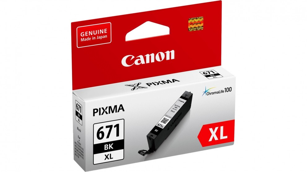 Canon CLI671XLBK Extra Large Ink Cartridge - Black